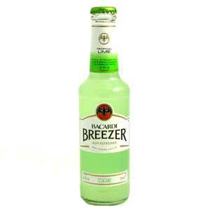 Bacardi with lime