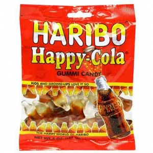 Chewy candy Happy Cola 200 g - Haribo