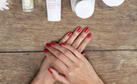 Hand creams and nail removers