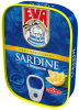 Sardina with lemon 115g - Eva